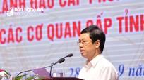 Phó Bí thư Thường trực Tỉnh ủy: Lãnh đạo phòng cấp tỉnh 'hiến kế' cho tỉnh phát triển KT-XH