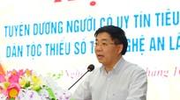 Phó Bí thư Tỉnh ủy Nguyễn Văn Thông: 'Mục tiêu của chúng ta là tất cả các dân tộc cùng tiến'