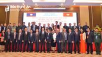 Lãnh đạo cấp cao Việt Nam và Lào dự hội thảo chia sẻ kinh nghiệm về công tác dân tộc tại Nghệ An