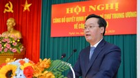 Video tân Phó Bí thư Tỉnh ủy Nghệ An phát biểu nhận nhiệm vụ