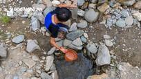 Nắng nóng, xã vùng cao Nghệ An quay quắt trong cơn khát