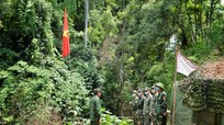 Cận cảnh ở chốt 'chống dịch dài lâu' trên tuyến biên giới Nghệ An