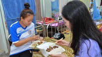 Cuộc sống của sinh viên Lào ở khu cách ly phòng, chống Covid-19