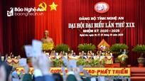 Danh sách Ban Chấp hành Đảng bộ tỉnh Nghệ An khóa XIX, nhiệm kỳ 2020 - 2025