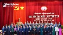 Ban Chấp hành Đảng bộ tỉnh Nghệ An khóa XIX ra mắt nhận nhiệm vụ