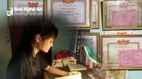 Thành tích đáng nể của nữ sinh trường làng đạt thủ khoa môn Hóa cấp tỉnh