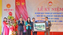 Phó Chủ tịch HĐND tỉnh Cao Thị Hiền vui hội Đại đoàn kết cùng nhân dân TX Thái Hòa