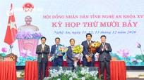 HĐND tỉnh Nghệ An miễn nhiệm và bầu bổ sung Ủy viên UBND tỉnh