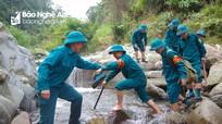 Ngày thường của tiểu đội dân quân thường trực trên rẻo cao Nghệ An
