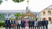 Chủ tịch Ủy ban MTTQ tỉnh chúc mừng Giáng sinh các tổ chức tôn giáo, trung tâm nuôi dạy trẻ