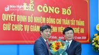 Bệnh viện Mắt Nghệ An có tân Giám đốc
