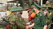 Video: Bộ CHQS tỉnh Nghệ An 'tiếp viện' tuyến biên giới phòng chống dịch Covid-19
