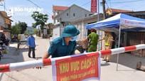 Sẽ kết thúc giãn cách xã hội thị xã Hoàng Mai từ 7h ngày 21/5/2021