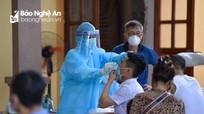 Nghệ An: Khẩn trương lấy hơn 6.000 mẫu xét nghiệm tại khu vực bị phong tỏa