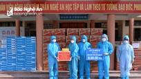 Ủy ban MTTQ tỉnh, Sở Y tế tặng quà Bệnh viện Tâm thần Nghệ An