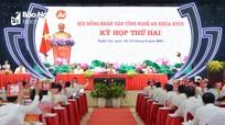 Bế mạc kỳ họp thứ 2, HĐND tỉnh Nghệ An khóa XVIII