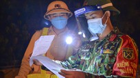 Video: Màu áo lính trên chốt phòng chống dịch Covid-19