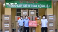 Nghệ An đón nhận vật tư thiết yếu phòng, chống dịch từ Công ty CP Công nghệ cao AS-TK Việt Nam
