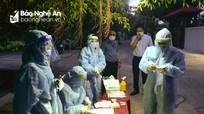 Tòa Giám mục Giáo phận Vinh cử 40 Sơ tham gia lấy mẫu xét nghiệm Covid-19 ở thành phố Vinh