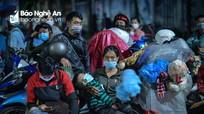 Sáng 7/10, Nghệ An có 2 ca nhiễm Covid-19 mới, là công dân từ miền Nam trở về