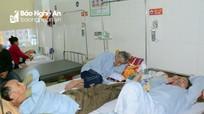 Nghệ An: Rét đậm, rét hại, hàng ngàn người dân mắc bệnh đường hô hấp