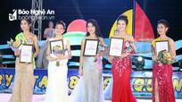 Nữ sinh trường THPT Quỳnh Lưu 4 đăng quang Duyên dáng biển Quỳnh năm 2018