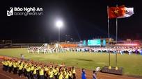 Khai mạc Đại hội thể dục thể thao tỉnh Nghệ An lần thứ VIII năm 2018
