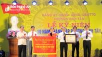 Phường Vinh Tân (TP. Vinh) tổ chức kỷ niệm 10 năm thành lập