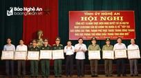 Xây dựng khu vực phòng thủ tỉnh Nghệ An vững về chính trị, mạnh về kinh tế