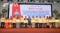 Đến năm 2020, Nghệ An là trung tâm giáo dục và đào tạo khu vực Bắc Trung bộ