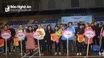 Hơn 200 vận động viên tham gia Giải cầu lông các câu lạc bộ tỉnh Nghệ An mở rộng 2018