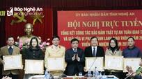 Khen thưởng 21 tập thể, cá nhân có thành tích xuất sắc về TTATGT