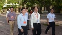 Kiểm tra công tác tổ chức Kỳ thi THPT Quốc gia tại Nghệ An