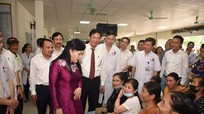 Bộ trưởng Bộ Y tế: Sắp xếp hợp lý, phát huy hiệu quả hệ thống ngành y ở Nghệ An