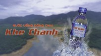 Nước uống tinh khiết Khe Chanh đã được kiểm nghiệm đạt chuẩn