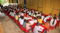 Ngôi trường bán trú 'đặc biệt' của học sinh người Mông nơi rẻo cao Nghệ An