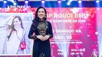 Cô gái xinh đẹp, nói tiếng Thái giỏi được bình chọn đại diện cho lữ hành du lịch Nghệ An