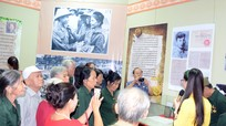 Xúc động những kỷ vật  'Ký ức thời hoa lửa' được trưng bày ở Bảo tàng Nghệ An