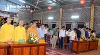 Đại lễ cầu siêu tưởng niệm các nhà báo liệt sỹ tổ chức ở Nghệ An