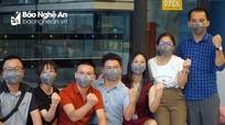 16 y, bác sĩ Nghệ An với 4 ngày đầu tiên thi hành nhiệm vụ tăng viện Đà Nẵng chống Covid-19
