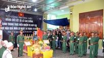 Xúc động lễ an táng liệt sĩ Lê Cao Cường hy sinh ở Quảng Trị