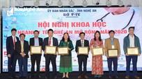 Các chuyên gia tai mũi họng hàng đầu Việt Nam báo cáo tại Hội nghị Khoa học ngành Y tế Nghệ An