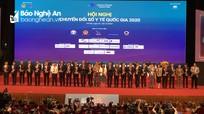 Ngành Y tế Nghệ An được vinh danh tại Hội nghị Chuyển đổi số y tế quốc gia