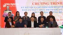 5 tỉnh Bắc Trung Bộ ký kết quy chế phối hợp đảm bảo an toàn vệ sinh thực phẩm