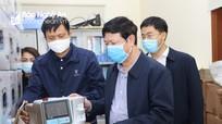 Nghệ An tiếp nhận 157 máy thở để phòng, chống dịch Covid-19