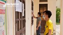 Việc bầu cử ở các khu cách ly phòng chống dịch Covid-19 tại Nghệ An diễn ra như thế nào?