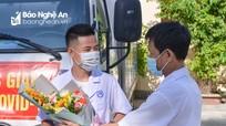 Cán bộ Bệnh viện Phổi Nghệ An lên đường chi viện cho Bắc Giang