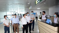 Yêu cầu tăng cường kiểm tra, nắm bắt thông tin người từ vùng dịch về Cảng hàng không Quốc tế Vinh