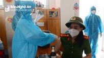 Thành phố Vinh tổ chức tiêm vaccine phòng Covid-19 đợt 2
