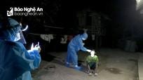 Băng rừng vào bản, soi đèn lấy mẫu xét nghiệm cho người dân La Ngan (Kỳ Sơn)
